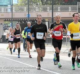 Nou vooruit, dan ook nog even de Eindhoven Marathon 2012