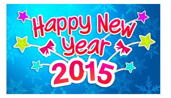 Een mooi, gezond, sportief en liefdevol 2015 gewenst!