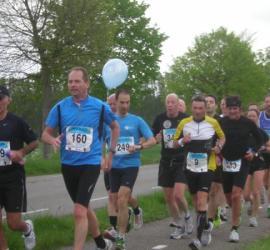 Pacer in de Marathon van Zeeuws Vlaanderen
