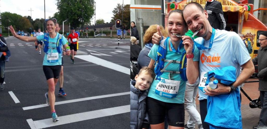 Met sportrusten loop je een marathon!