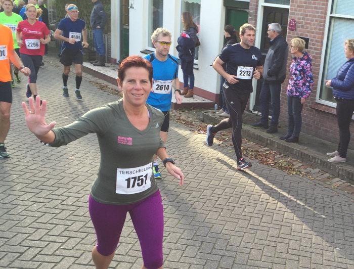 De halve marathon kanjers met Anneke, Merit en Ans!