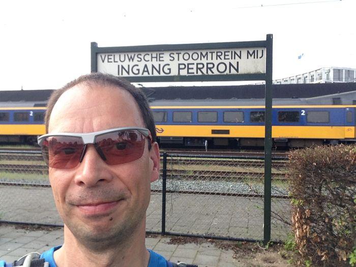 De start vanuit Apeldoorn