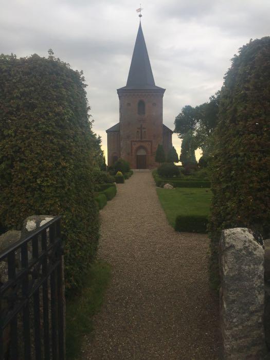 De kerk van Dalby