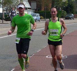 Enschede Marathon 2011 – afzien en genieten