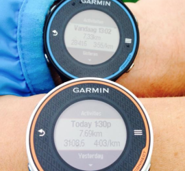 Review Garmin Forerunner 620