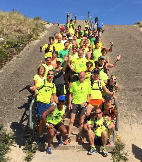 De gele groep van 2015 - Foto: Petra