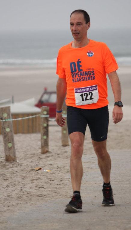 Even bijkomen van het stuk op het strand - Foto; Janke vd Schaaf
