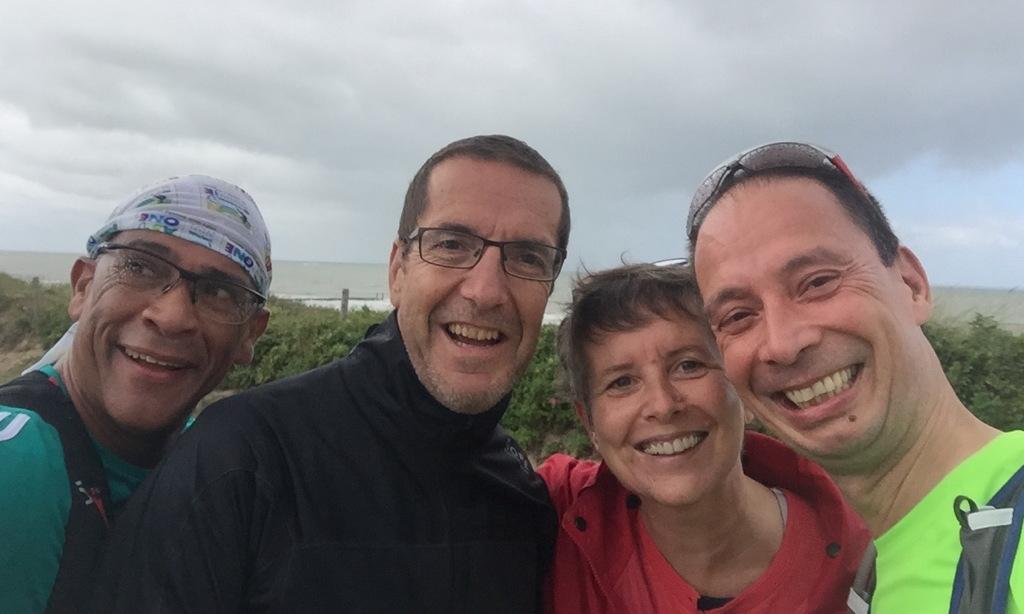 Gezellige mensen in Zeeland! John, Günter en Fabiola