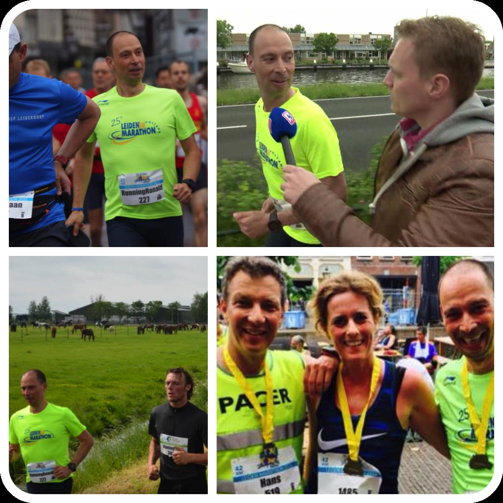 Onderweg in de Leiden Marathon 2016