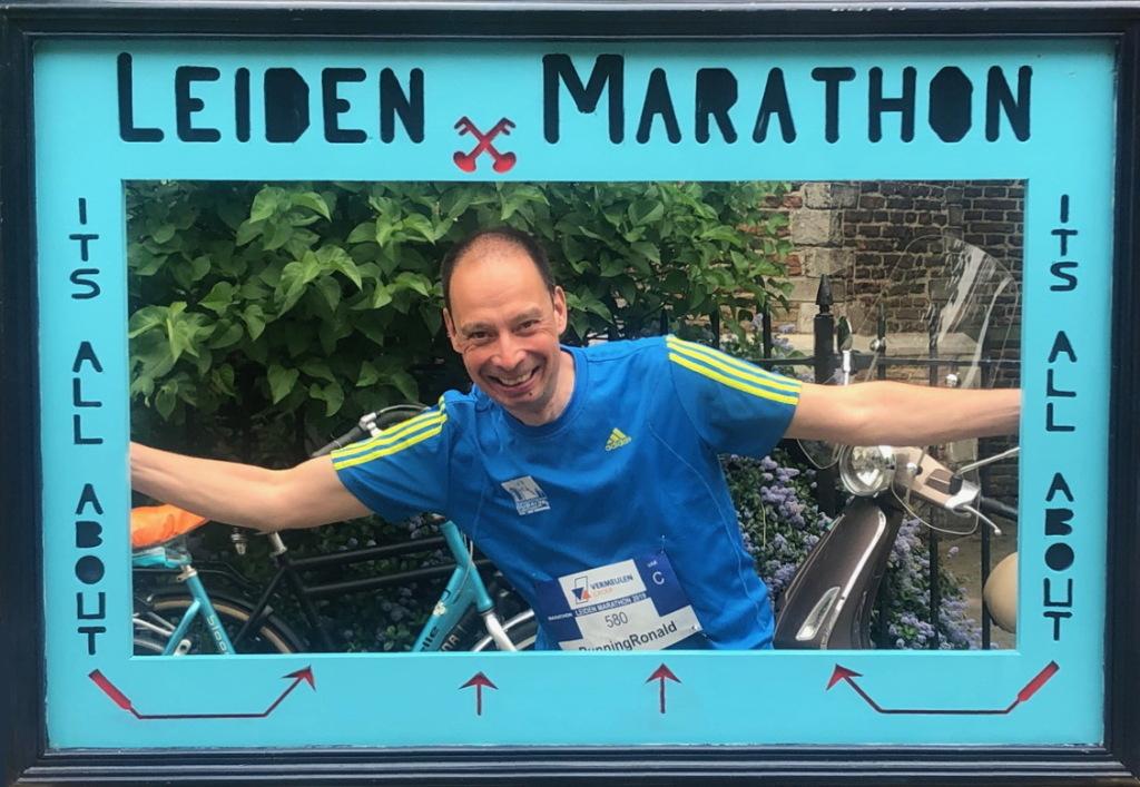 Altijd gezellig, de Leiden Marathon