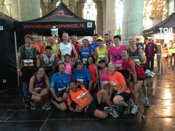 Veel bekende gezichten bij de Leiden Marathon 2014