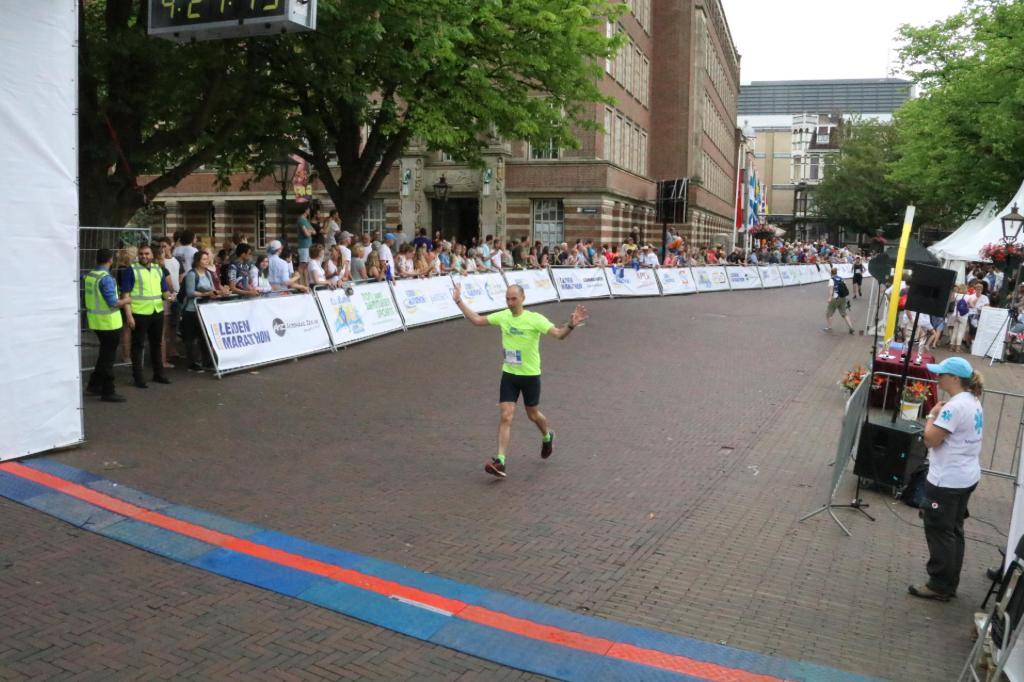 Finish LM 18 - Foto: Leiden Marathon organisatie