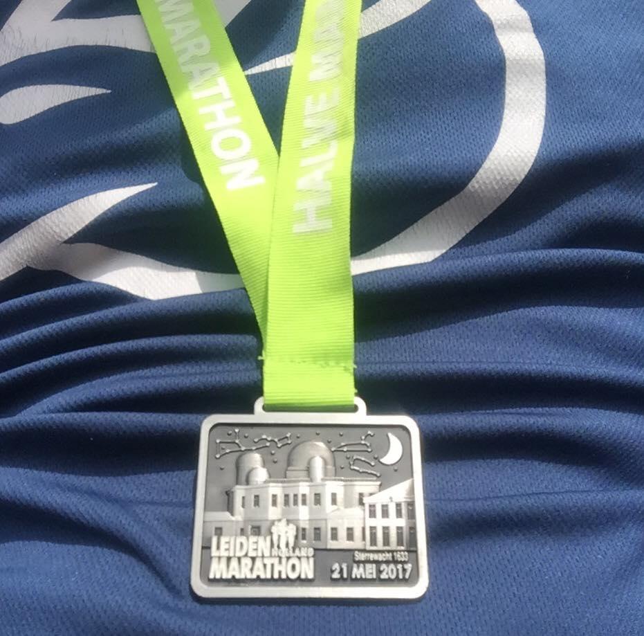 En ook dit jaar weer een schitterende medaille !