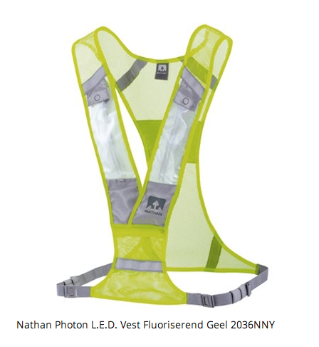 Review Nathan Photon LED Vest | RunningRonald.nl