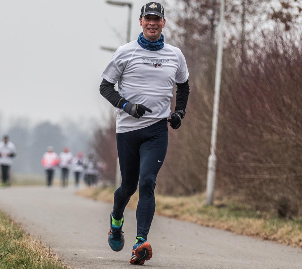RR onderweg, marathon nr. 42!