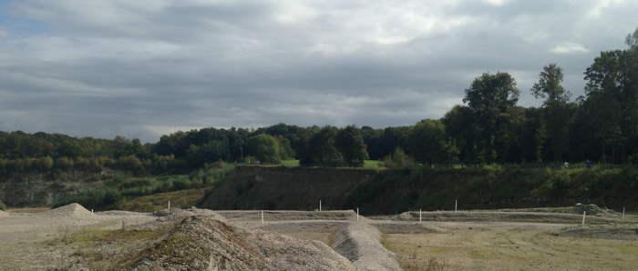 De steengroeve van Winterswijk - mooi moment om even te stoppen