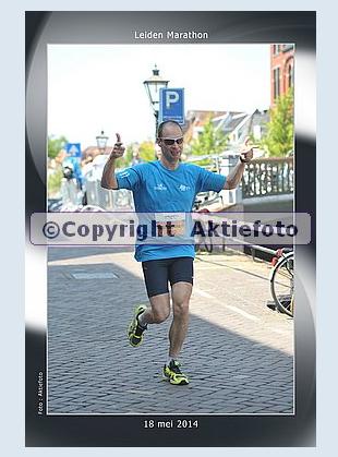 voor de 11e keer achter elkaar: Leiden Marathon - Foto: Aktiefoto.nl