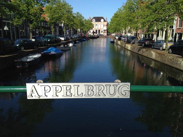 De Appelbrug. Eén van de vele bruggen in Hoorn