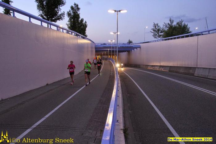 De laatste hindernis, het aquaduct uit - Foto: Nico Altenburg