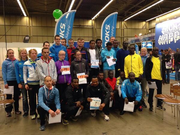 Alle toplopers van de Eindhoven Marathon bij elkaar