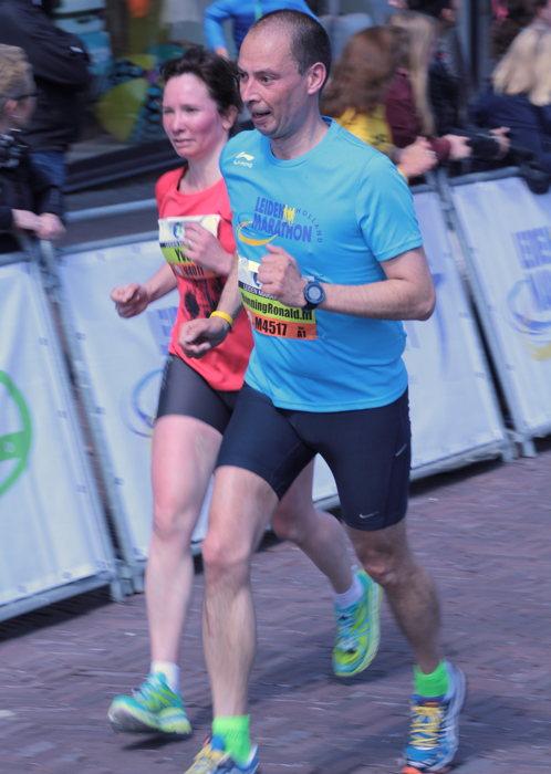 Op naar de finish met Yvette - Foto:  @madebymaaike_