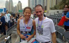 Klus geklaard.... en hoe!! Dubai Marathon 2011