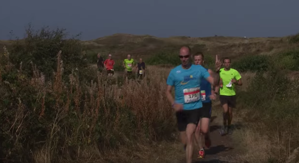 Actie foto onderweg - screendump van RTV Noord Holland