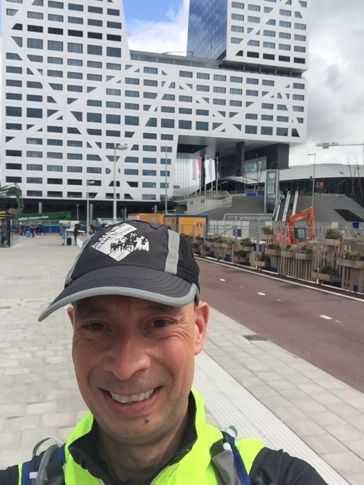 De start vanaf Utrecht CS