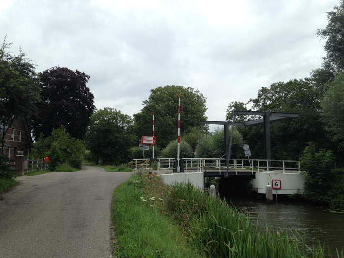 Langs het water vanuit Linschoten naar Oudewater