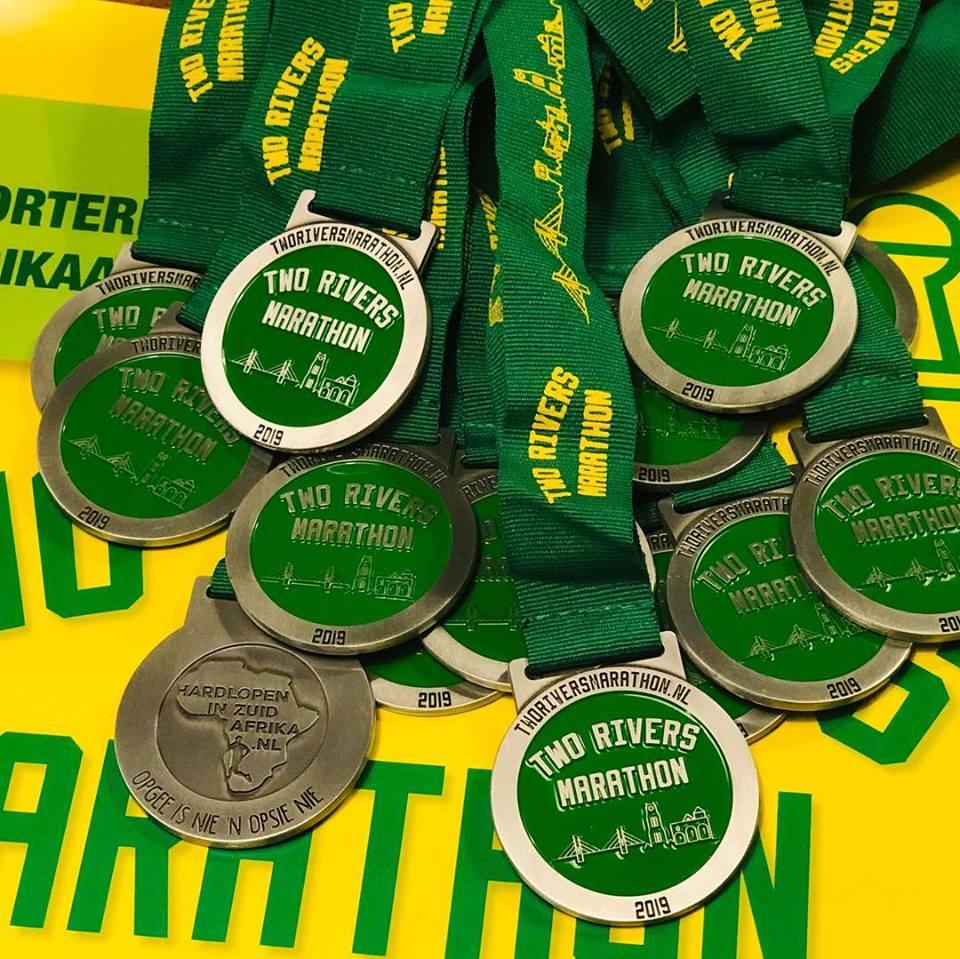 Een aanrader, de Two Rivers Marathon - Foto: organisatie