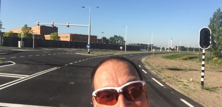 Nieuwe hardloopwegen bij de Maximabrug