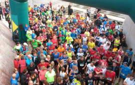 De start van de marathon - foto: AV Archeus