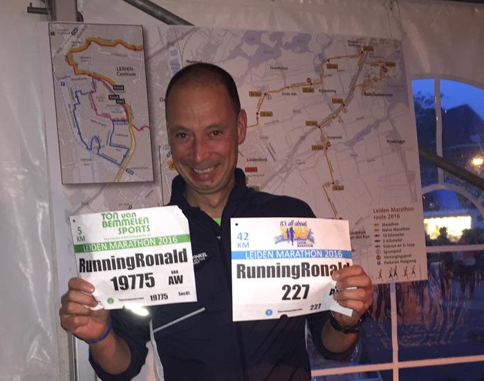 2 x Marathon Leiden 2016