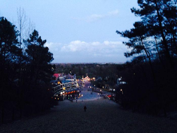 Uitzicht vanaf de Klimduin