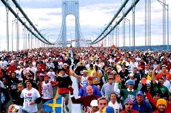 Het mooie parcours van de New York City Marathon