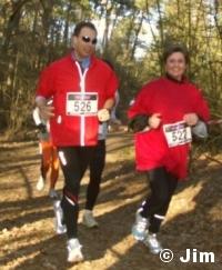 Petra en Running Ronald - Gemaakt door Jim
