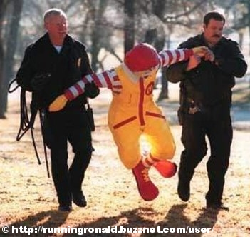 Running Ronald maar dan anders..