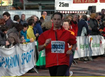 Running Ronald op de laatste meters