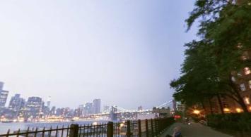 Het uitzicht vanaf Brooklyn Heights