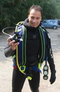 RunningRonald in DivingGear