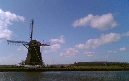 De molen langs de Heimanswetering