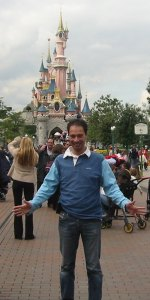 RunningRonald in Disneyland