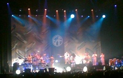EWF on stage