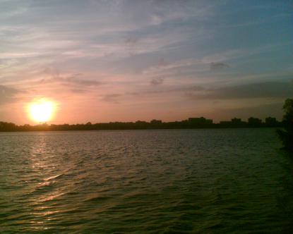 Sunset in Alphen a/d Rijn
