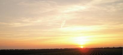 Sunset in Ter Aar