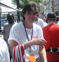 Medaille dame in Leiden