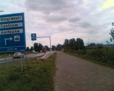 You're entering Alphen a/d Rijn