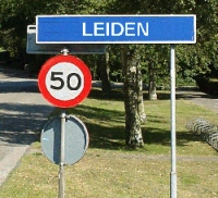 Entering Leiden
