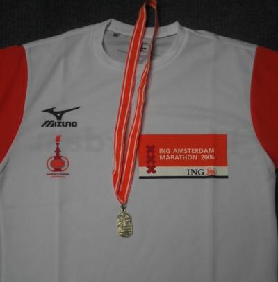 Shirt Amsterdam Marathon
