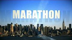 Marathon op Canvas